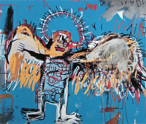 Untitled (1981) Fallen Angel - Jean-Michel Basquiat - Fine Artwork