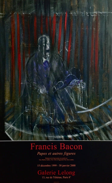Pope Innocent X, 1999 Exhibition Poster, Francis Bacon
