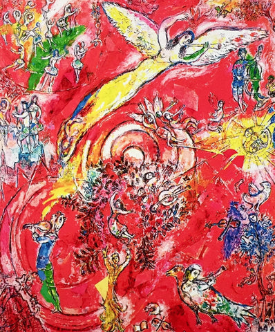 Triumph of Music, Limited Edition Giclee, Marc Chagall