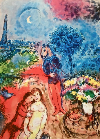 Serenade, Limited Edition Giclee, Marc Chagall