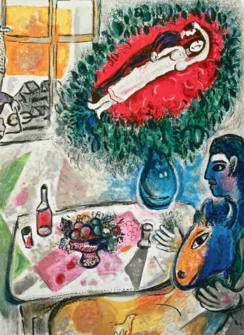 Reverie, Limited Edition Giclee, Marc Chagall - Fine Artwork