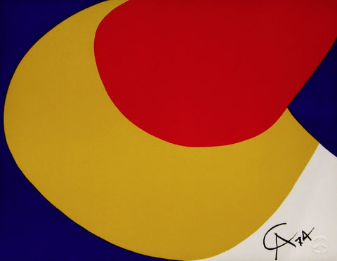 Convection (Flying Colors),1974/75 Limited Edition Lithograph, Alexander Calder - Fine Artwork