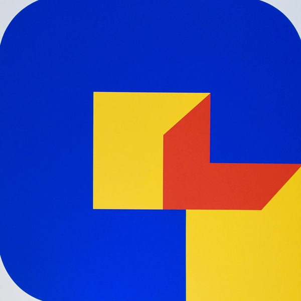 Version 8, 1969 Limited Edition Silkscreen, Georg Karl Pfahler