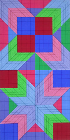 DO-OR, Ltd Ed Silk-screen, Victor Vasarely - Fine Artwork