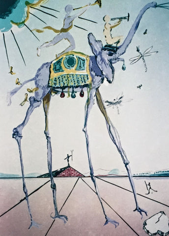 Celestial Elephant, Limited Edition Giclee, Salvador Dali - Fine Artwork