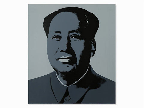 Mao (Grey) Sunday B. Morning, Silk-screen, Andy Warhol - with COA - Fine Artwork