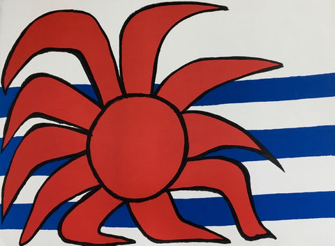 Sun & Sea, Limited Edition Lithograph, Alexander Calder