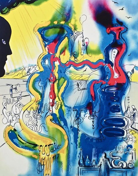 The Chemist, Limited Edition Giclee, Salvador Dali