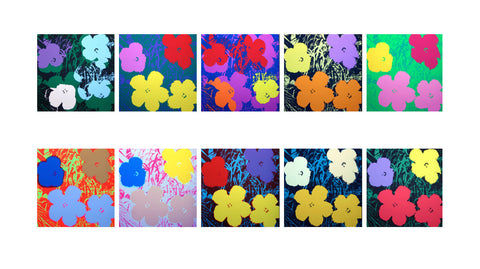 Flowers Suite (Sunday B. Morning) - Andy Warhol - Fine Artwork