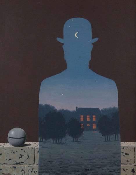 L'Heureux Donateur (The Happy Donor),Offset Lithograph, Rene Magritte - Fine Artwork