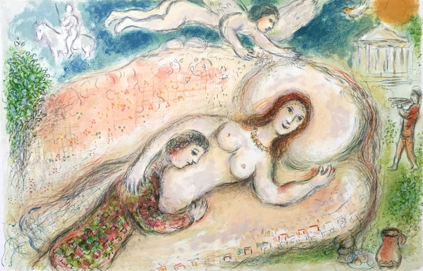 Circe (The Odyessy), 1989 Limited Edition Lithograph, Marc Chagall - Fine Artwork