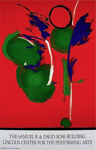 Mary Mary, 1991 Ltd Ed Exhibition Poster, Helen Frankenthaler - Fine Artwork