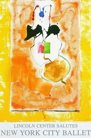 Solar Imp, 2001 Ltd Ed Exhibition Silk-screen Poster, Helen Frankenthaler - Fine Artwork