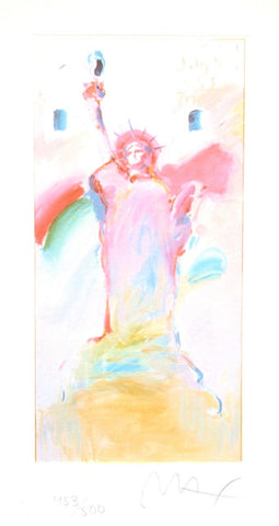 Statue of Liberty VII, Limited Edition Lithograph, Peter Max