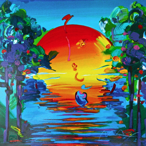 Better World (Retro Suite), Limited Edition Silkscreen, Peter Max