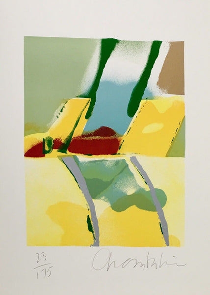 Flashback I, Limited Edition Silkscreen, John Chamberlain