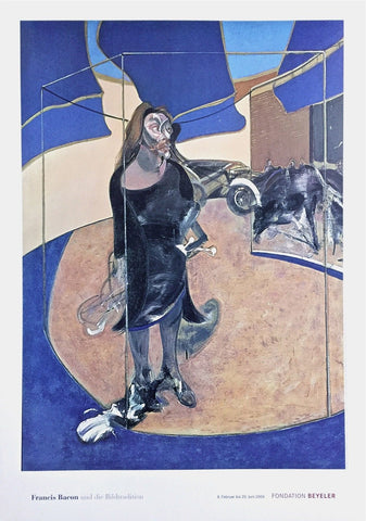 Portrait Isabel Hawsthorne, 2003 Exhibition Poster, Francis Bacon