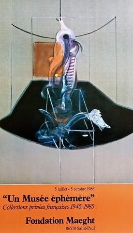 Le Boeuf, 1986 Exhibition Poster, Francis Bacon