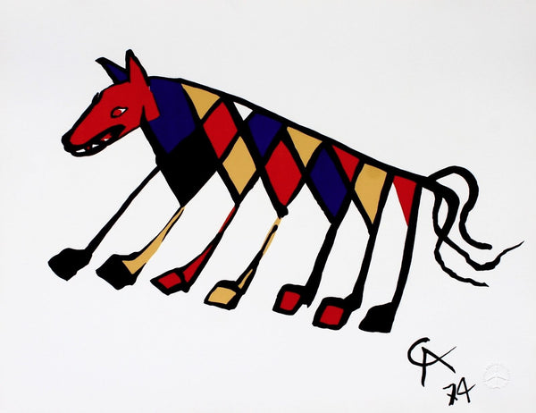 Beastie (Flying Colors), 1974/75 Limited Edition Lithograph, Alexander Calder - Fine Artwork