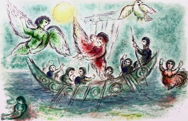 The Sirens (The Odyessy), 1989 Limited Edition Lithograph, Marc Chagall