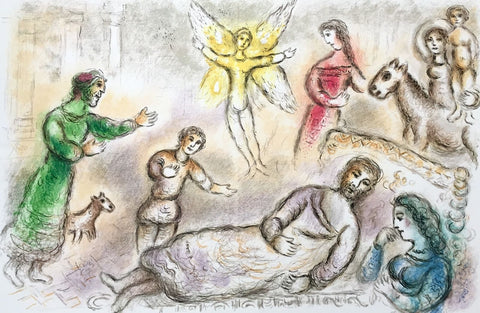Peace Rediscovered (The Odyessy), 1989 Limited Edition Lithograph, Marc Chagall - Fine Artwork