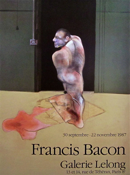 Standing Man, 1987 Exhibition Poster, Francis Bacon