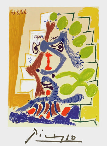 Untitled, Limited Edition Lithograph, Pablo Picasso