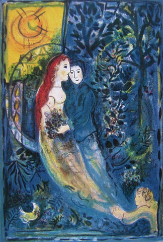 The Wedding, Ltd Ed Offset Lithograph, Marc Chagall - Fine Artwork