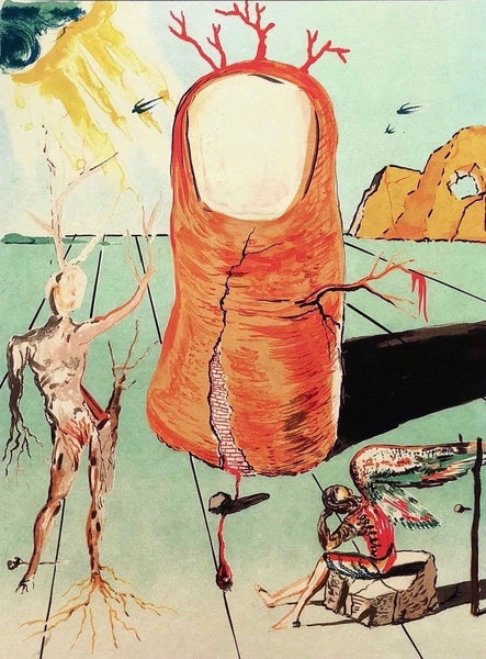 The Thumb, Limited Edition Giclee, Salvador Dali