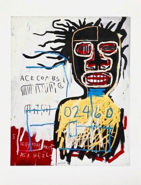 Self Portrait as a Heel, Giclee, Jean-Michel Basquiat
