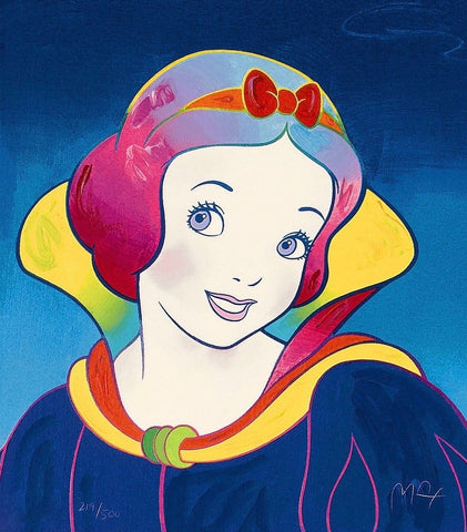 Snow White, Limited Edition Silkscreen, Peter Max