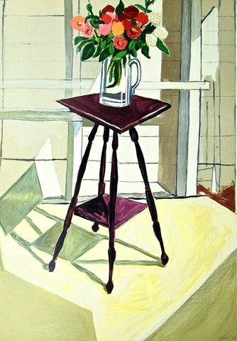 Light, Limited Edition Lithograph, Alice Neel