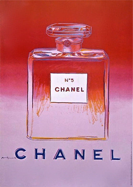 Chanel Red & Pink, Offset Lithograph on Paper Mounted on Canvas (Large), Andy Warhol - Fine Artwork