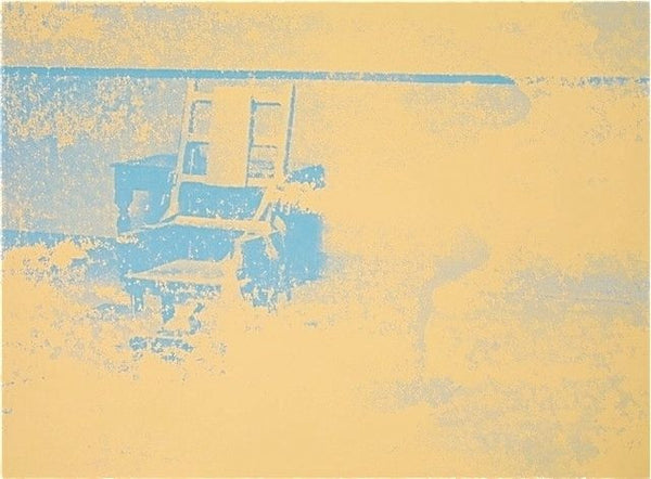 Electric Chair #83, Ltd Ed Silk-screen, Andy Warhol - Fine Artwork