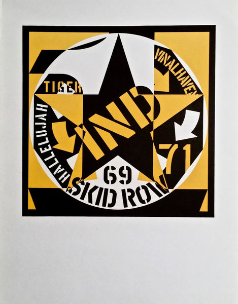 69 Skid Row, Ltd Ed Lithograph, Robert Indiana - Fine Artwork