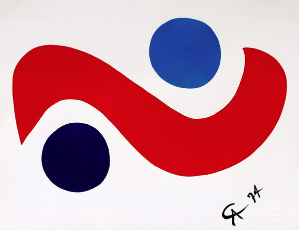 Skybird (Flying Colors), 1974/75 Limited Edition Lithograph, Alexander Calder - Fine Artwork