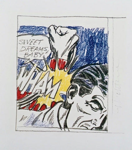 Sweet Dreams Baby, Offset Lithograph (Small), Roy Lichtenstein