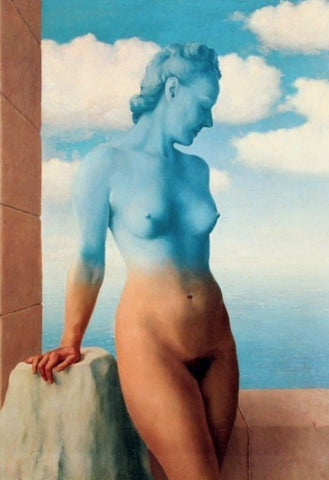 Black Magic (La Magie Noire), Offset Lithograph, Rene Magritte - Fine Artwork