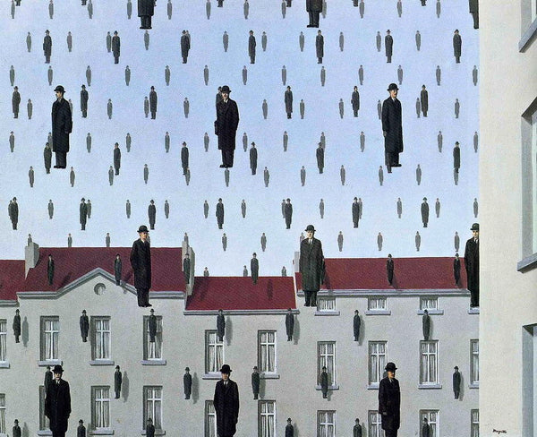 Golconda (Golconde), Offset Lithograph, Rene Magritte - Fine Artwork