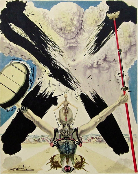 The Atomic Era, 1957 Limited Edition Lithograph, Salvador Dali