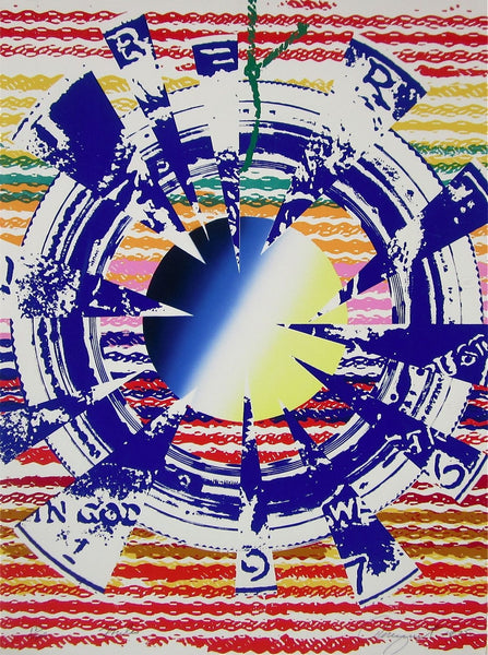 Miles, Limited Edition Silkscreen, James Rosenquist - Fine Artwork