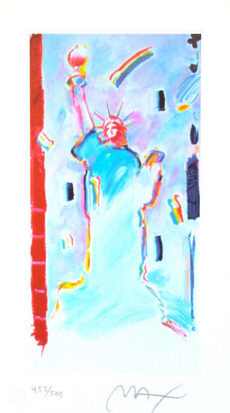 Statue of Liberty I, Limited Edition Lithograph, Peter Max - Fine Artwork