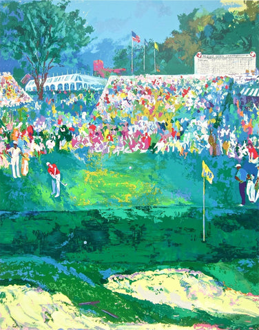 Bethpage Black Course, Ltd Ed Silk-screen, Le Roy Neiman - Fine Artwork
