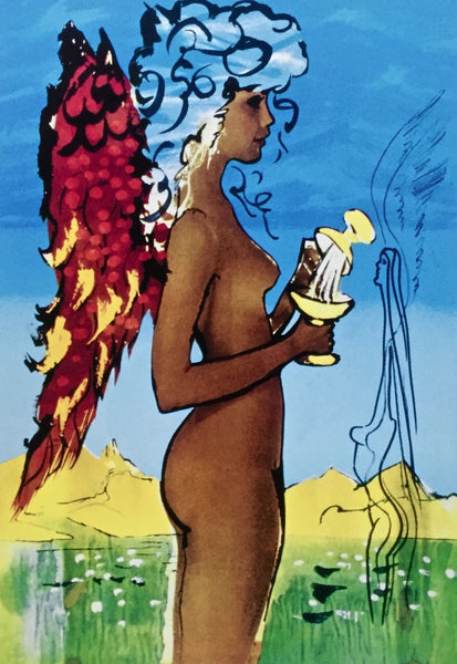 Love's Promises, Limited Edition Giclee, Salvador Dali