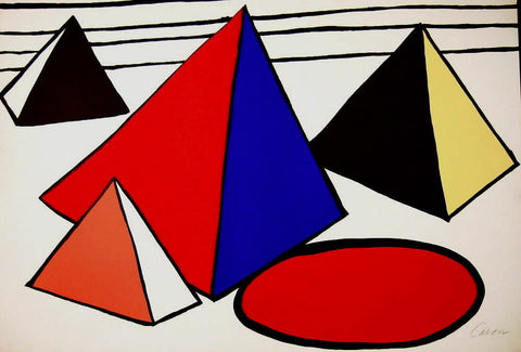 4 Great Pyramids by Alexander Calder - Art Commerce LLC