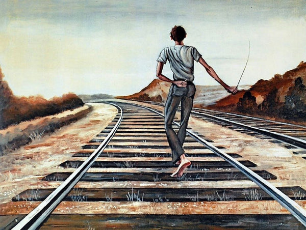 Destination Unknown, Limited Edition Lithograph, Ernie Barnes - Fine Artwork