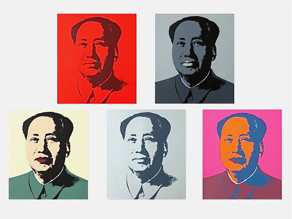 Mao Suite (Sunday B. Morning), Silk-screen, Andy Warhol - Fine Artwork
