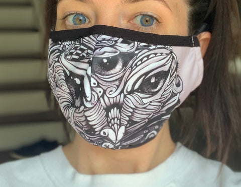Mask - All Seeing Owl