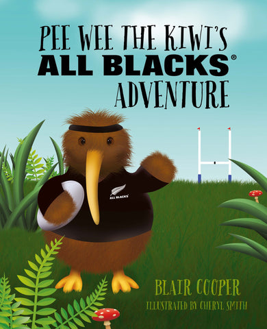 Pee Wee the kiwi's All Black Adventure with FREE All Blacks Pee Wee Toy