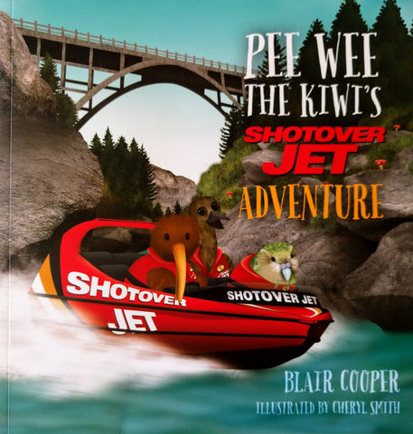 Pee Wee the Kiwi's Shotover Jet Adventure
